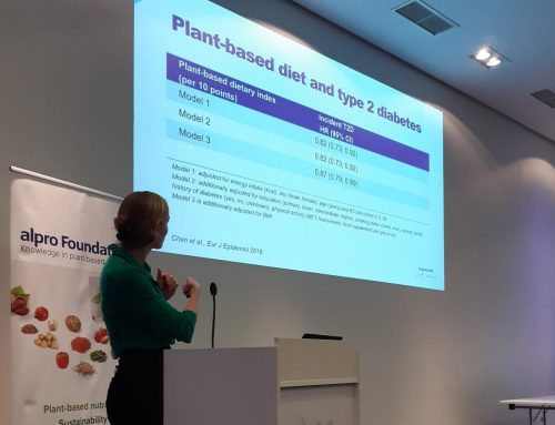 Our research on plant-based eating at EFAD 2019